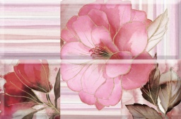 Панно composicion romantique flower burdeos 01 30*45 каталог